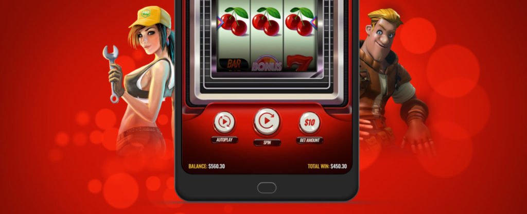 play casino games on your mobile