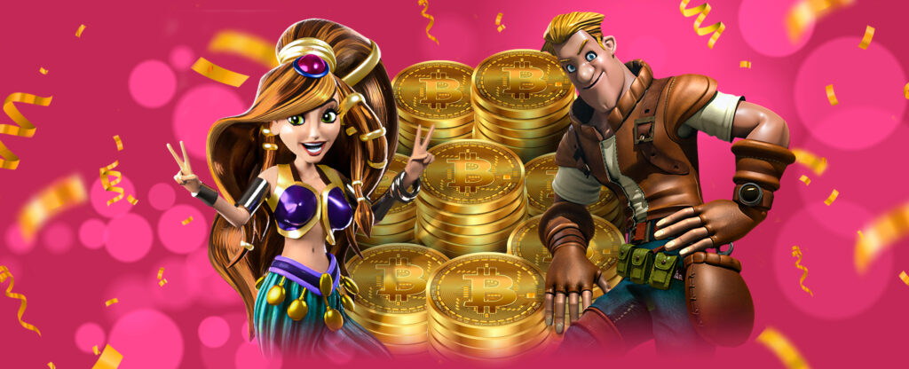 Bitcoin Deposits and Refer & Earn Slots.lv Promotion